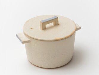 耐熱白 小鍋の画像