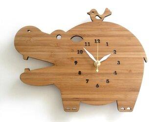 Decoylabの掛け時計 HIPPOの画像
