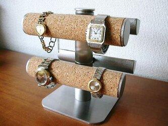 腕時計スタンド 腕時計&アクセサリー手動式スタンドの画像