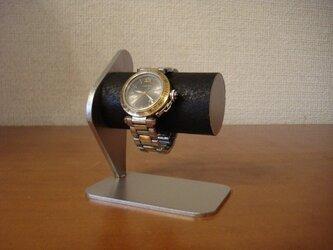 腕時計スタンド ブラックシングルウォッチスタンド★誕生日プレゼントにの画像