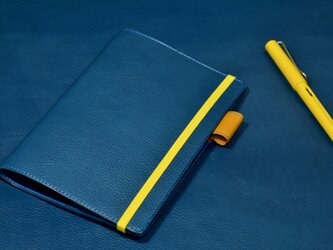 toku 様オーダー イタリアンレザー ブラウニーA5スリムサイズ手帳カバーの画像