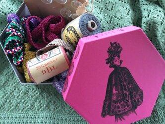 de bououtin女の子のためのおしゃれbox サイズLの画像