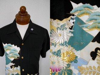 着物アロハシャツ AL-583/Mの画像