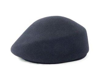 豊富なカラバリで選び放題!現代風ベレートーク帽 ブラック(18AWN-002)の画像
