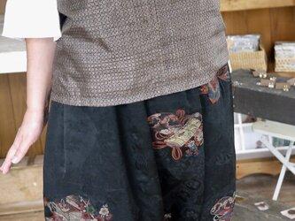 羽織と大島紬からアンサンブルの画像
