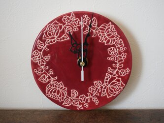 野バラの時計 Rosa Caninaの画像