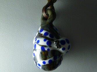 岩盤蛸NO.2(ガラス、蛸、ペンダント)の画像