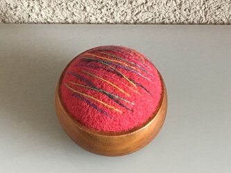 <再販>羊毛フェルトのピンクッションの画像