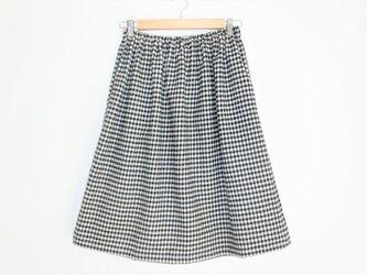 10%off チェック柄スカートの画像