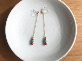 swing earring/pierce【long】の画像