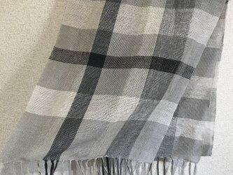 手織りストール A8の画像