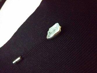 SV925 ミントキャンディのハットピン<アクアマリン>の画像