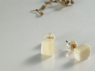 k10✼Makkoh pierced earrings 92017の画像
