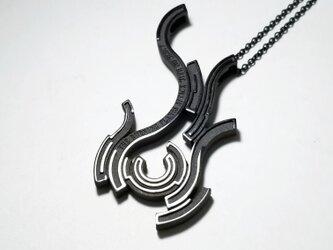 hono (炎) シルバーアクセサリー ペンダント・ネックレス ジオメトリック(幾何学)の画像