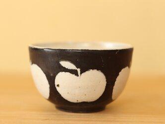 K様専用画面。黒りんご柄のボウル小の画像