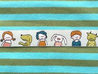 ドイツファーベミクス 刺繍リボン 1m-ガールズ&フレンズの画像
