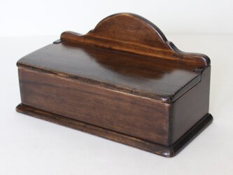 ふた付き木製セルボックス ロング No.1882の画像