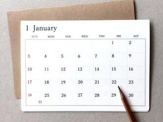 カレンダーB*卓上・壁掛け 何月からでも 月曜日始まりもOKの画像