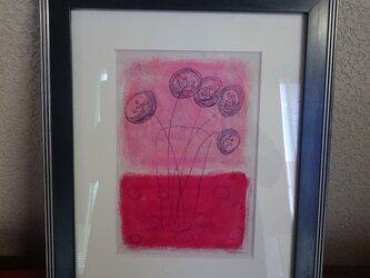 毬   パステル画の画像