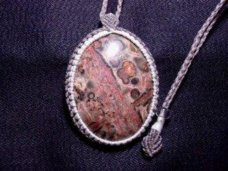 インド産ピクチャージャスパーペンダントの画像