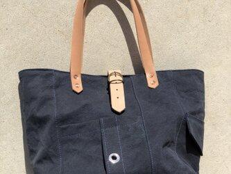 宅急便送料無料☆army duc tool  bag M  navyの画像