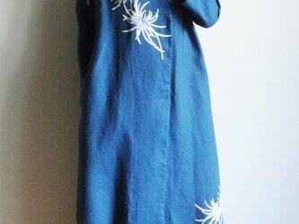 リネン羽織り・乱菊 の画像