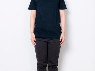 藍染 Tシャツ size1 濃紺の画像