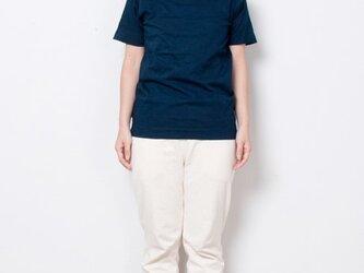 藍染 Tシャツ size1 青藍の画像