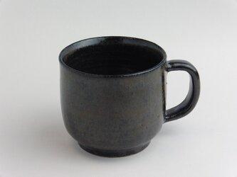 鉄釉 マグカップの画像