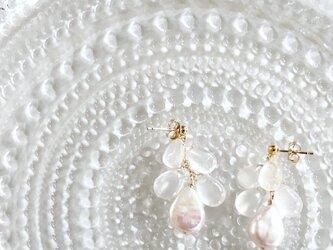 selmonia moonstone*pearl*pierceの画像