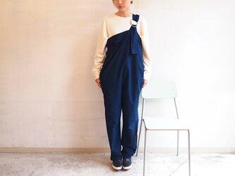 ■袈裟パンツNEO/濃藍色の画像
