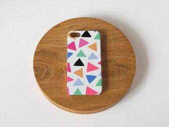ハード型スマホケース cheerful triangle ( pink )【iPhone/Android各機種対応】の画像