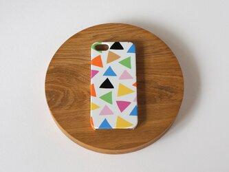 ハード型スマホケース cheerful triangle ( colorful )【iPhone/Android各機種対応】の画像