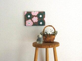 popy ( brownie × strawberry × angelica ) ファブリックパネルの画像