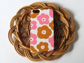 ハード型スマホケース popy ( camel × pink )【iPhone/Android各機種対応】の画像