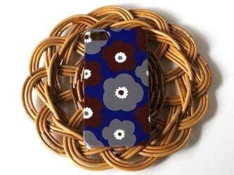 ハード型スマホケース popy ( brown × grey ×deep blue)【iPhone/Android 各機種対応】の画像