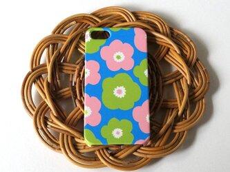 ハード型スマホケース popy ( retro blue )【iPhone/Android 各機種対応】の画像