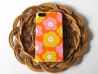 ハード型スマホケース popy ( retro orange ) 【iPhone/Android 各機種対応】の画像
