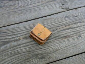 コインケース・四角い形の小銭入れの画像