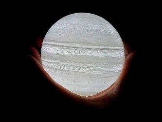 木星のライト 手で持てます☺️の画像