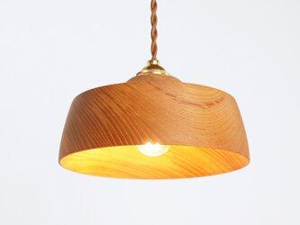 木製 ペンダントランプ 欅(ケヤキ)材4の画像