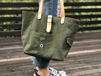 宅急便送料無料☆army duc tool  bag M  khakiの画像