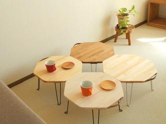 """ハチカク"""" 小さな ♪ """"幸せローテーブルの画像"""