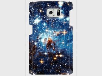 """アートフォト """"星の輝き""""  Galaxy S8等 大サイズスマホ対応 ハードケース 抽象画の画像"""