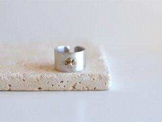 K10SVリング  銀のみち[小石]の画像