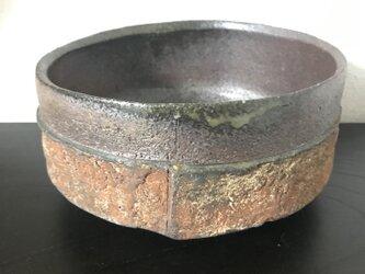 焼締「纏」深鉢(サラダボウル)の画像