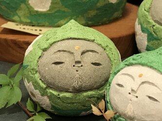 福仏頭(地蔵、小、ライトグリーン)の画像