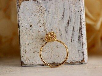K18GP  ミモザのリングの画像