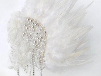 アートピース パール羽根の画像