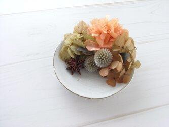 花皿-tea roseの画像